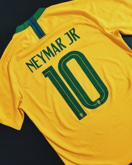 Neymar Brasil 2018 Home Shirt