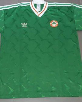 Republic of Ireland Home football shirt 1990 – 1991