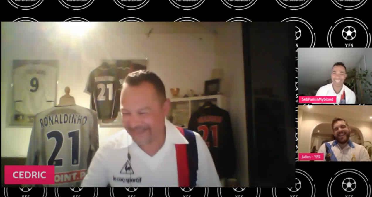 You are currently viewing YFS TV EPISODE I – L'un des plus grands collectionneurs de maillot du PSG