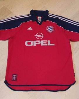 1999-2000 Bayern Munich Shirt Size XL excellent condition