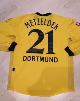 Matchworn Borussia Dortmund BVB 2003-04 shirt metzelder