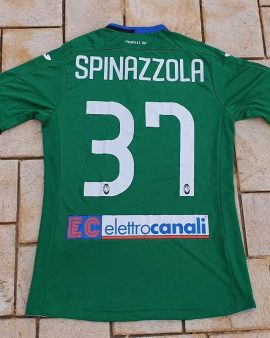 rare 2017-18 spinazzola atalanta Third Shirt perfect condition size M Rarissima Maglia del alanta Bergamo