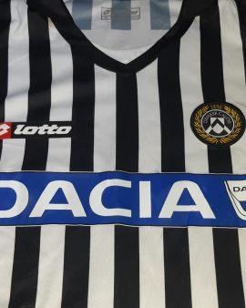 CANDREVA Udinese Home MATCH WORN shirt 2008 – 2009