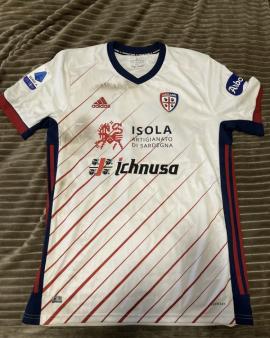 Maglia INDOSSATA Carboni Cagliari Calcio Serie A 2020/21