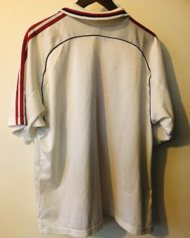 Vintage Adidas Olympique Lyonnais 2000/01 Sponsor Pathé taille XL