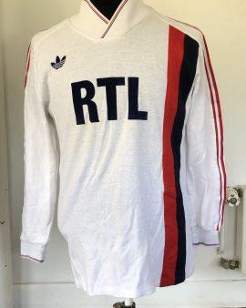 Maillot PSG 1986/87 – porté contre Vitctovice