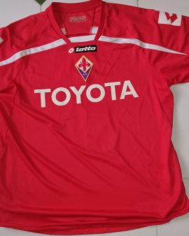 Match worn Fiorentina third kit 2009-2010 Juan Manuel Vargas