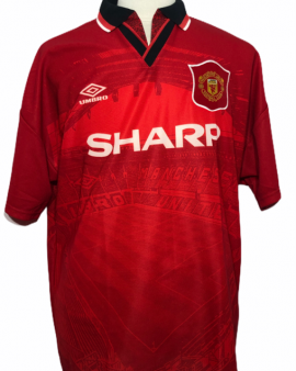 """Manchester United 1994-1995 HOME Taille """"XL"""""""