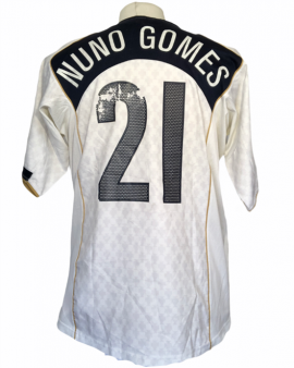 """Maillot Portugal 2004 AWAY Taille """"L"""" #21 NUNO GOMES"""