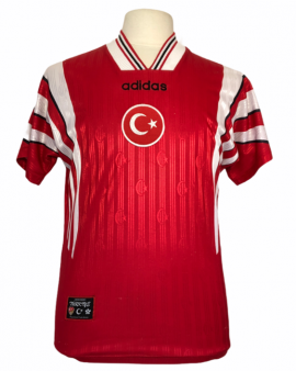 """Maillot Turquie 1996 HOME Taille """"M"""""""