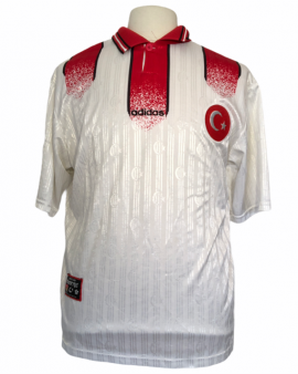 """Maillot Turquie 1996 AWAY Taille """"L"""