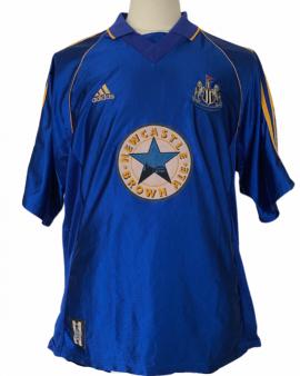 "Maillot de Newcastle 1998-1999 AWAY Taille ""XL"""