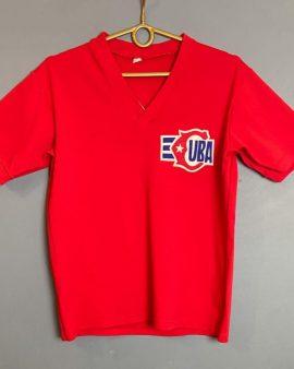 Rare worn jersey nationnal team Cuba 1970's authentic vintage