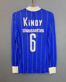 Rare Match Worn jersey French Club 1973/74 Lecoq Sportif Vintage