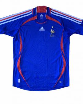 2006 07 FRANCE HOME FOOTBALL SHIRT – S