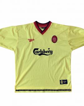 1997 99 LIVERPOOL AWAY FOOTBALL SHIRT – XL