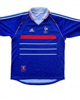 1998 00 FRANCE HOME FOOTBALL SHIRT – M
