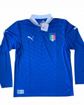 2012 13 ITALY LS HOME FOOTBALL SHIRT *BNWT* – L