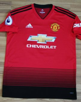 Manchester United official Markus RASHFORD football shirt