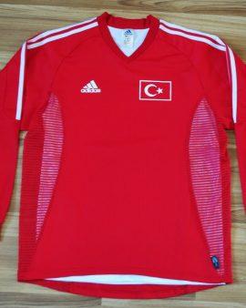 Turkey 2002 retro vintage football shirt double layer