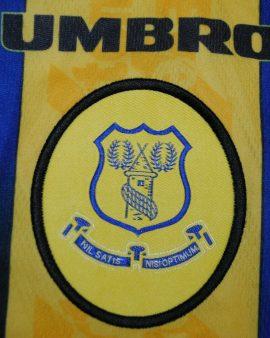 Everton football shirt 1996 1997 1998 Away jersey UMBRO