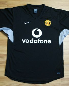 Manchester United 2002 2003 Vodafone Training jersey