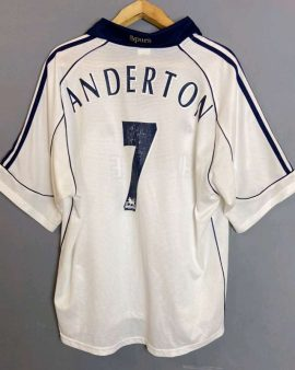 Jersey Anderson #7 Tottenham Hotspur 1999-01 home z
