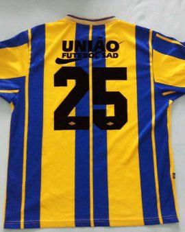 Rare match worn União Da Madeira shirt