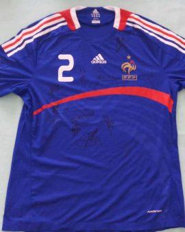 signed France shirt stock pro (XL)