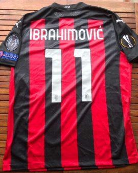 Milan AC Zlatan Ibrahimovic issued/worn