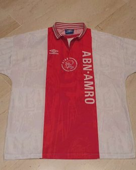 1996-97 Ajax Amsterdam Home Shirt perfect condition size XL