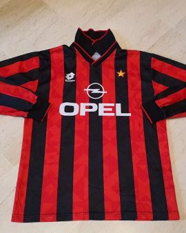 player issue 1994-95 AC milan Shirt Longsleeves size Large