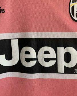 2015 16 JUVENTUS AWAY FOOTBALL SHIRT Pink Drake – L