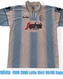 Fbc Trévise Maillot XL 1999 2000 Lotto Football -Shirt 99/00 Segafredo