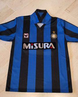1990-91 inter Milan Shirt ( #10 matthaüs) size S
