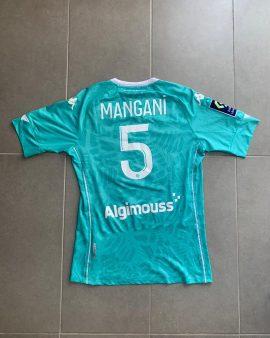 Maillot porté par Mangani lors de PSG – Angers