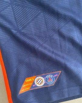 Maillot Montpellier porté contre le PSG