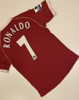 Manchester United Home Shirt 06/07 Ronaldo 7 Size S