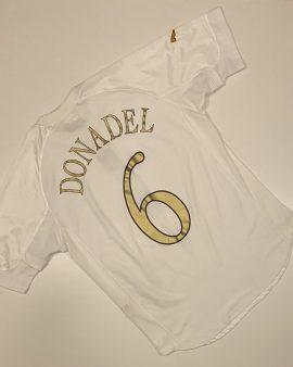 Italy Away Shirt 04/06 Donadel 6 Size L