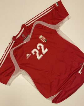 Hungary Home Shirt 05 Number 22 Size L PLayer Version