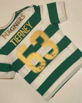 Celtic Home Shirt 17/18 Tierney 63 Size S