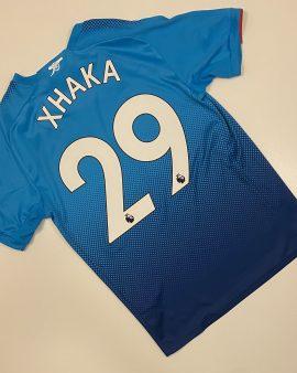 Arsenal Away Shirt 17/18 Xhaka 34 Size S