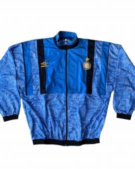 1994 95 INTER MILAN UMBRO TRACK TOP *BNWOT*