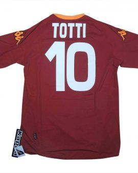 Roma 2007-08 Original Home Shirt Totti #10