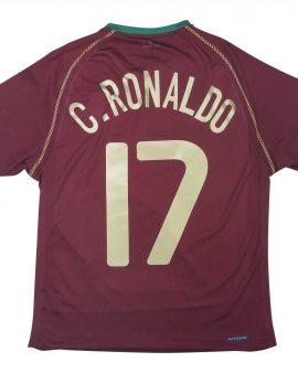 Portugal 2006-08 Home Shirt Ronaldo #17