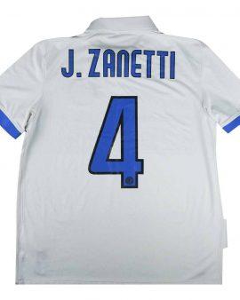 Inter Milan 2009-10 Original away shirt Zanetti #4