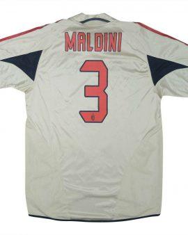 AC Milan 2004-05 Original Third Shirt Maldini #3 M Soccer Jersey