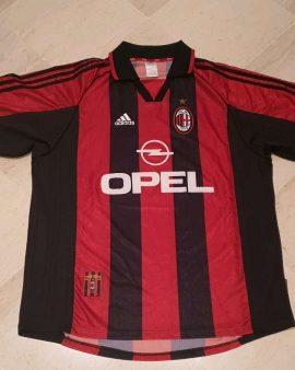 Rare 1998-99 AC Milan Shirt Size XL