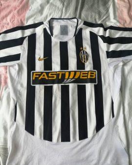 Maillot juventus de Turin. Saison 2003-2004