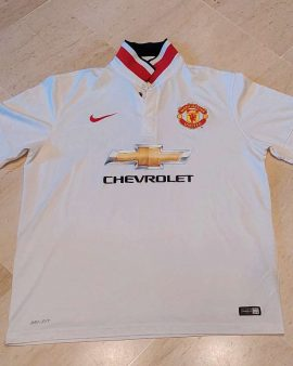 2014-15 Manchester United Away Shirt Size XL excellent condition